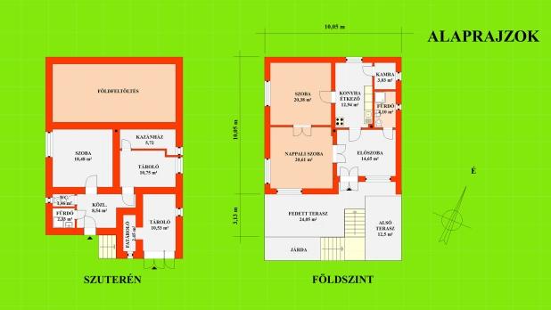 Lakóház, a Balaton partján, eladó