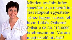 Lőkös Gáborné Erika 06-30-218-0000