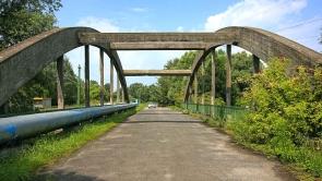 A régi Zala-híd. Régen a balatoni műúton itt ment a forgalom.