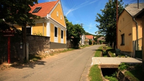 Balaton-felvidék, utcakép