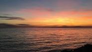A Balaton tengerszerű látványt nyújt