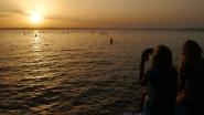 Alkony, naplemente a Balaton déli partján